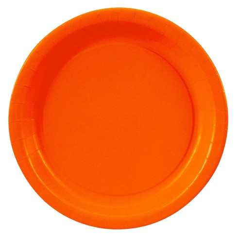 Orange Dessert Plate - image 1 of 1