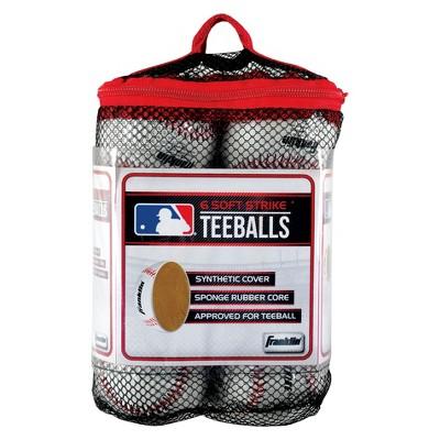 Franklin Sports Soft Strike Teeballs - 6pk