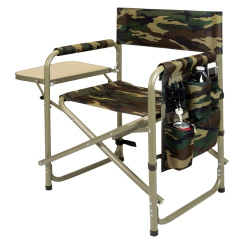 Picnic Time Sports Chair with Table and Pockets - Camouflage - image 1 of 3