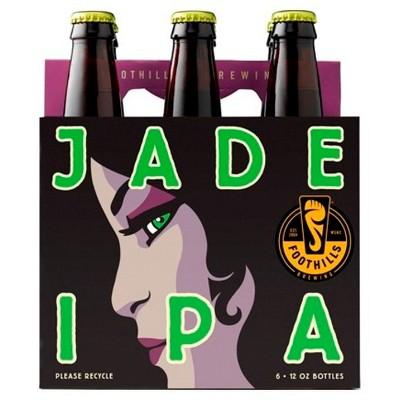 Foothills Jade IPA Beer - 6pk/12 fl oz Bottles
