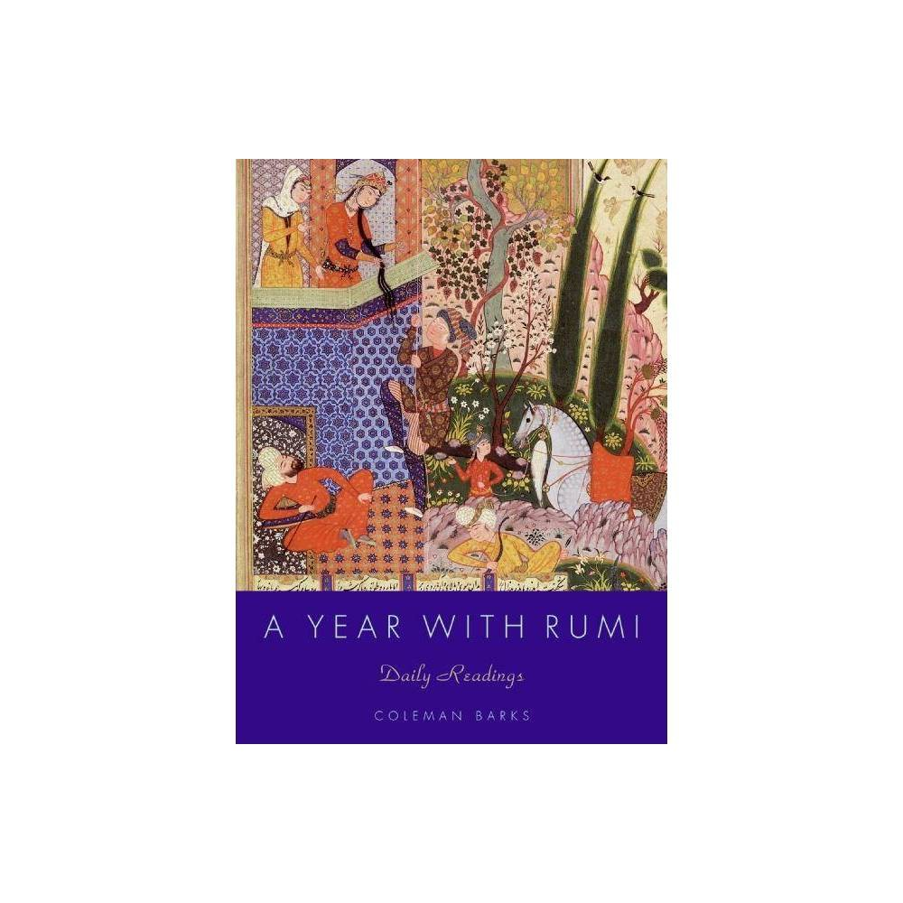 A Year With Rumi By Coleman Barks Hardcover