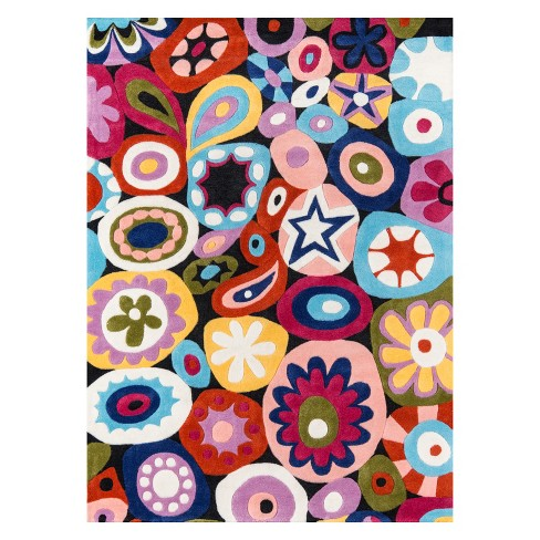 b0a49b735ff Lil Mo Hipster Mille Fleur Paisley Tufted Accent Rug - Momeni : Target