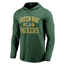 NFL Green Bay Packers Men's Block Arch Lightweight Hoodie