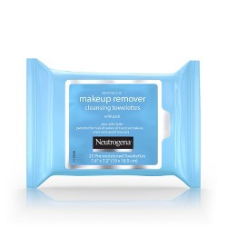 Neutrogena Makeup Remover Cleansing Towelettes & Face Wipes - 25ct