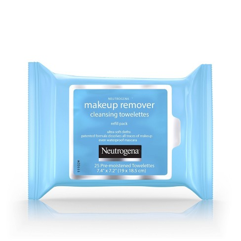 Neutrogena Makeup Remover Cleansing Towelettes & Face Wipes - 25ct - image 1 of 11