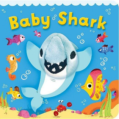 Baby Shark - by Scarlett Wing (Board Book)
