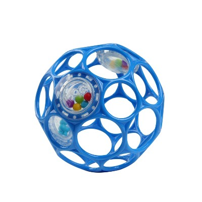 Oball Toy Ball Rattle - Blue