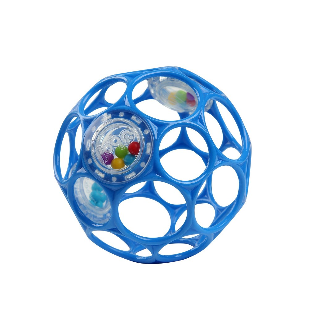 Image of Oball Toy Ball Rattle - Blue