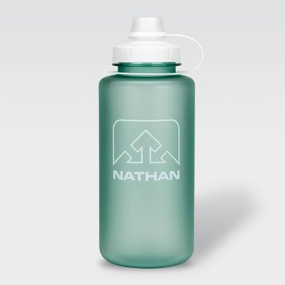 Nathan 32oz Tritan Big Shot Water Bottle - Blue