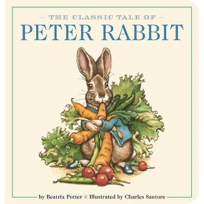 The Classic Tale of Peter Rabbit Oversized Padded Board Book, Volume 13 - (Classic Edition)by Beatrix Potter (Board_book)