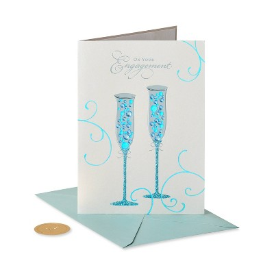 Champagne Flute Card - PAPYRUS