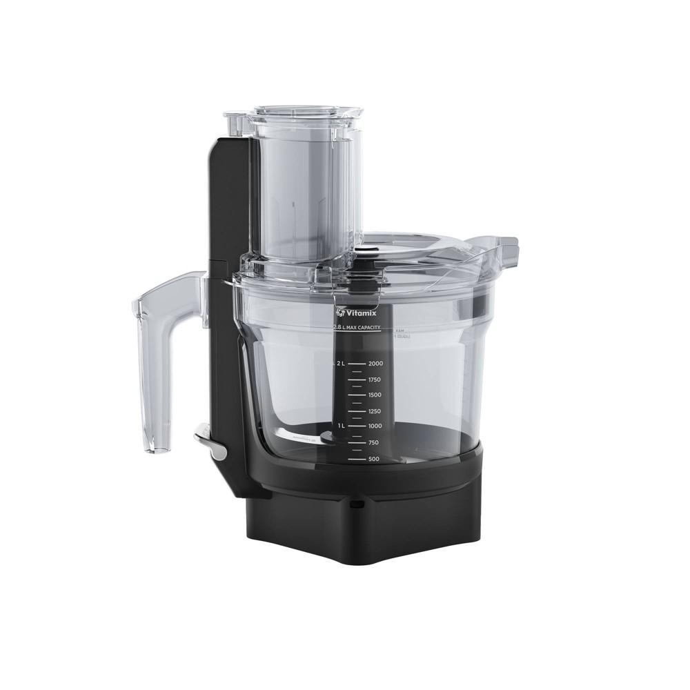Vitamix 12 Cup Food Processor Attachment Black