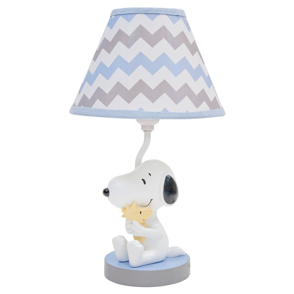 Image of Peanuts Lamp w/ Shade & Bulb - My Little Snoopy