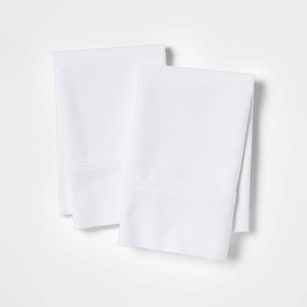 Ultra Soft Pillowcase Set (King) White 300 Thread Count - Threshold Compare