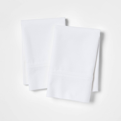 300 Thread Count Ultra Soft Solid Pillowcase Set - Threshold™ - image 1 of 4