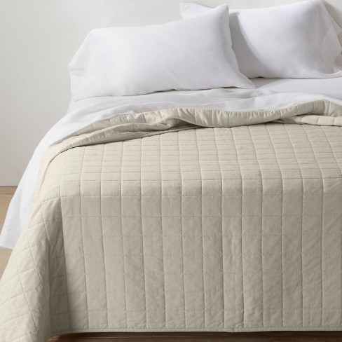 Heavyweight Linen Blend Quilt - Casaluna™ - image 1 of 4