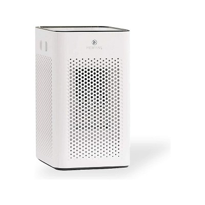 Medify Air MA-25-W1 Table Top Personal Portable Air Cleaner Purifier Machine with True HEPA Filter, 3 Speeds, 500 Sq Ft Coverage, White