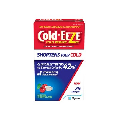 Cold-Eeze Cold Remedy Cherry Lozenges - 25ct