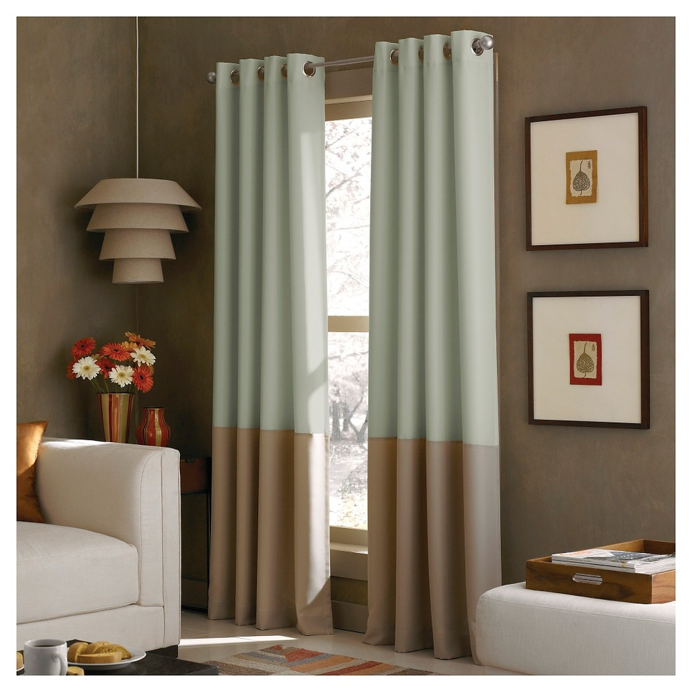 Curtainworks Kendall Lined Curtain Panel - Peacock (120)