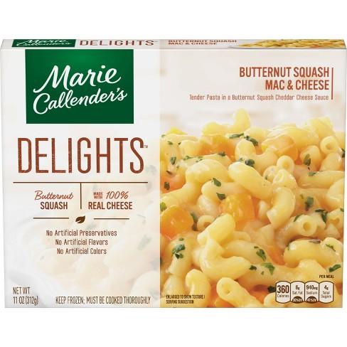 Marie Callender's Delights Frozen Mac & Cheese Butternut Squash Pasta - 11oz - image 1 of 1