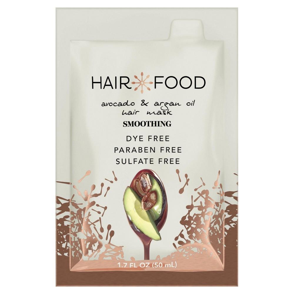 Image of Hair Food Avocado & Argan Oil Smooth Hair Mask - 1.7 fl oz