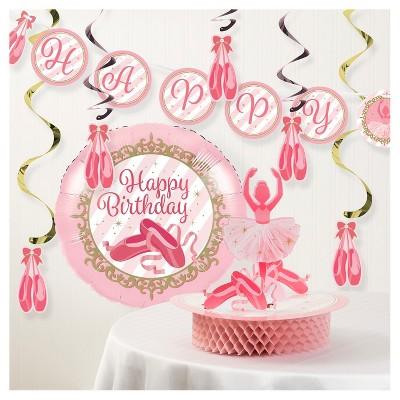 Ballet Birthday Party Decorations Kit