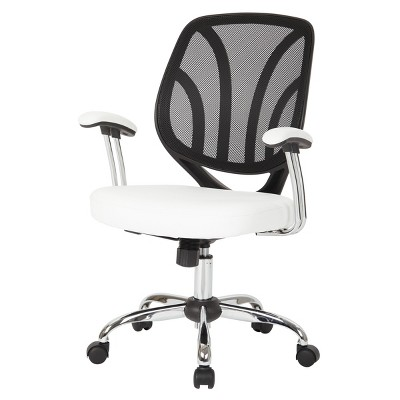 Screen Back Chair Faux Leather - Office Star