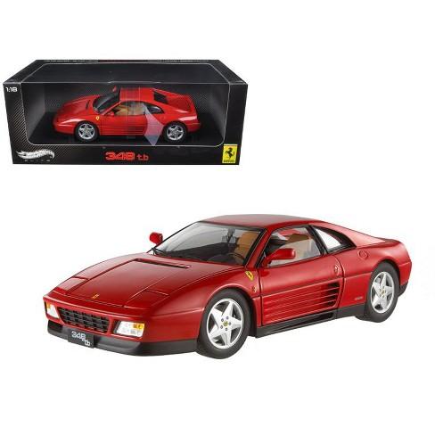 1989 ferrari 348 tb red elite edition 1/18 diecast car model