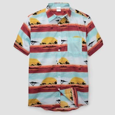 Men's The Lion King Short Sleeve Graphic T Shirt Light Blue by Shirt Light Blue
