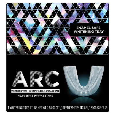 ARC Whitening Kit includes Whitening Tray + Whitening Gel + Storage Case - 0.68oz