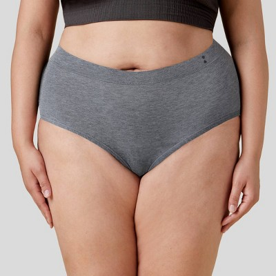 Thinx for All Women's Moderate Absorbency High-Waist Brief Period Underwear
