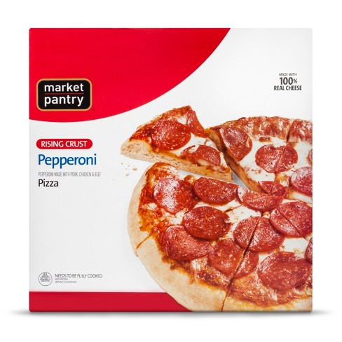 Rising Crust Pepperoni Frozen Pizza 28.3oz - Market Pantry™ - image 1 of 1