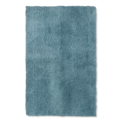 38 x24  Tufted Spa Bath Rug Aqua - Fieldcrest®