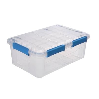 Ezy Storage 33.8qt IP67 Waterproof Storage Box