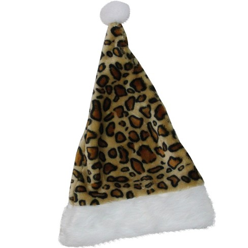 Northlight Red and White Plush Unisex Adult Santa Hat Christmas Costume Accessory - One Size - image 1 of 3