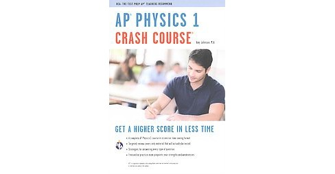 AP Physics 1 Crash Course (Revised) (Paperback) (Amy Johnson) - image 1 of 1