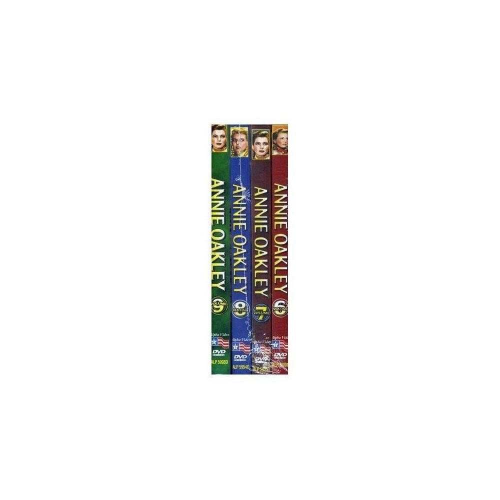 Annie Oakley Volumes 6 9 Dvd 2010
