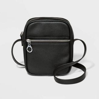 Zip Closure Crossbody Bag - Wild Fable™ Black