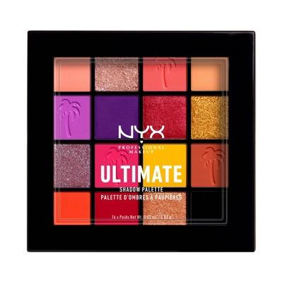 NYX Professional Makeup Ultimate Eyeshadow Palette - Festival - 0.46oz