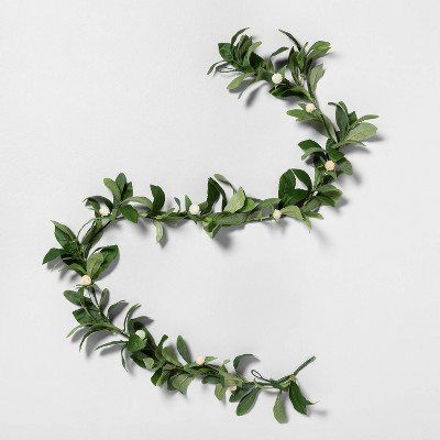 "72"" Faux Thistle Globe Garland - Hearth & Hand™ with Magnolia"
