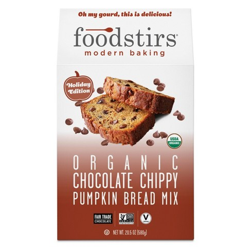 Foodstirs Organic Chocolate Chippy Pumpkin Bread Mix - 20.5oz - image 1 of 2