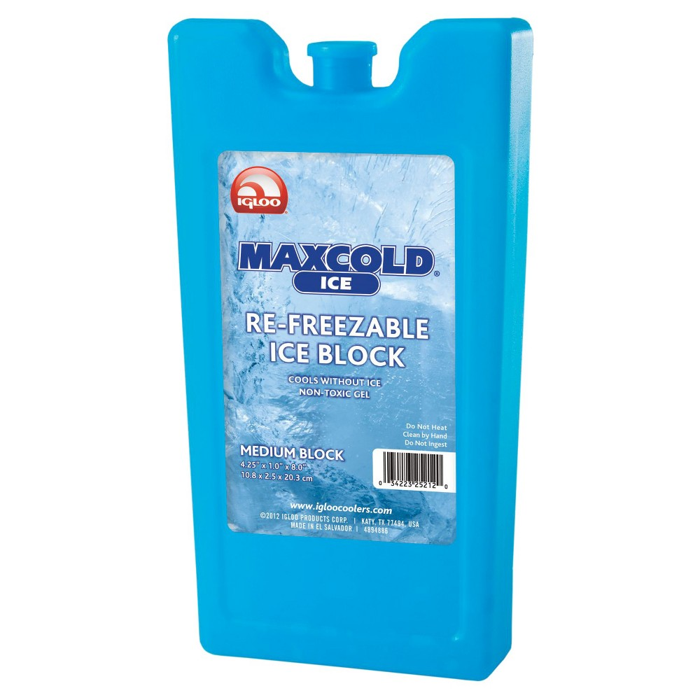 Image of Igloo MaxCold Refreezable Ice Block - Medium