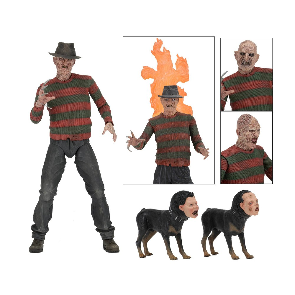 "Image of ""A Nightmare on Elm Street 2: Freddy's Revengs Ultimate Freddy Krueger 7"""" Action Figure & Accessories"""