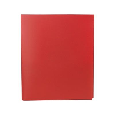 Staples Pocket Folder Tri-Fold Red 5/Pack (23300) 951441