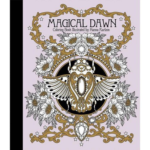 Magical Dawn Coloring Book - (Hardcover) - image 1 of 1