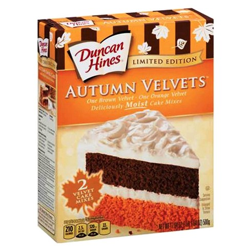 Duncan Hines Autumn Velvets Cake Mixes - 17.64oz - image 1 of 1
