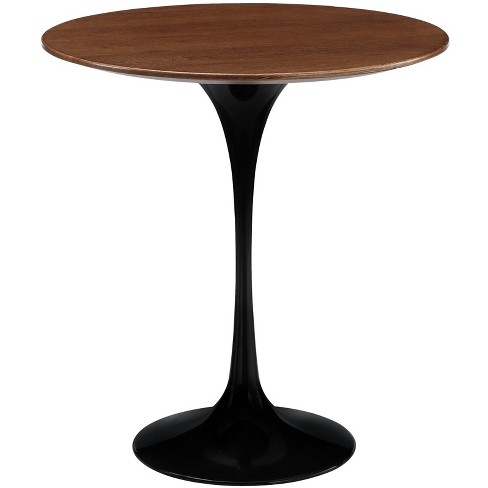 "Lippa 20"" Wood Side Table Black - Modway - image 1 of 4"
