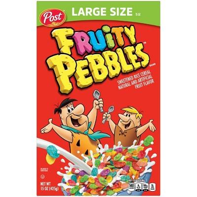 Fruity Pebbles Breakfast Cereal - 15oz - Post