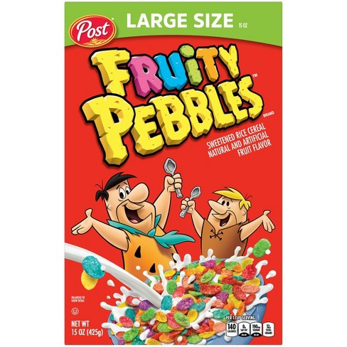 Fruity Pebbles Breakfast Cereal - 15oz - Post - image 1 of 4