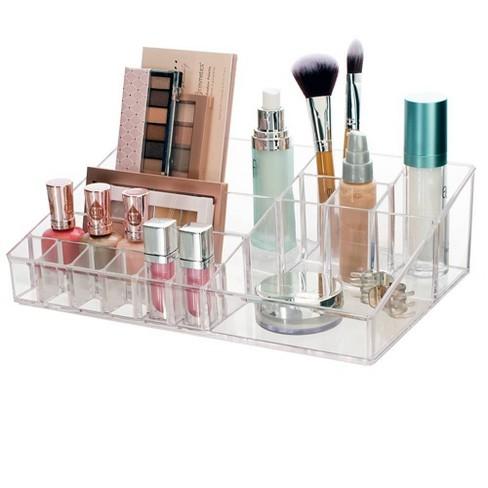 US Acrylic Audrey Cosmetics Organizer - image 1 of 4